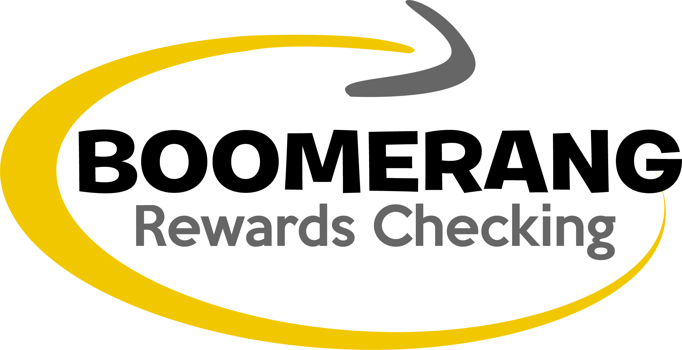 Boomerang rewards checking logo