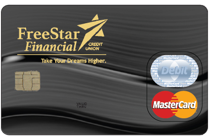 picture of a Freestar Financial debit card