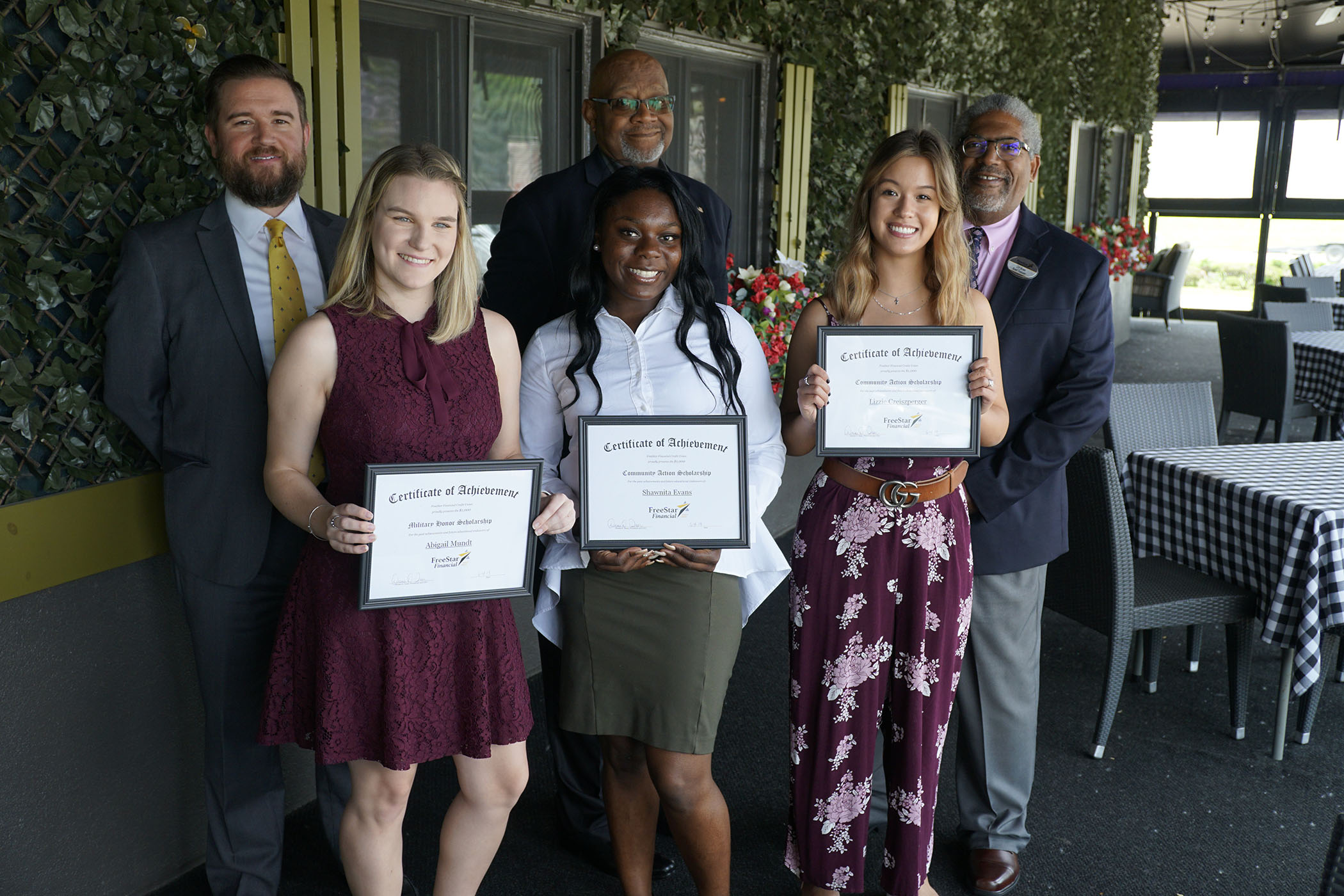 scholarship winners for 2019